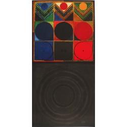RAZA : Lithograph - Prakriti bindu