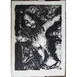 Raya Sorkine - Lithograph : The Christ