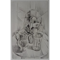 Mily POSSOZ - Etching : The table