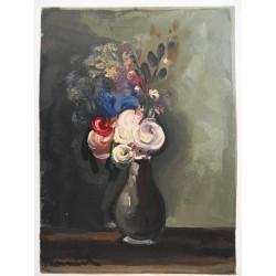 Maurice de VLAMINCK- Roses