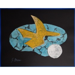 Georges BRAQUE - Les Bijoux - Bird of the Moon