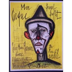 Bernard BUFFET - Circus - The clown