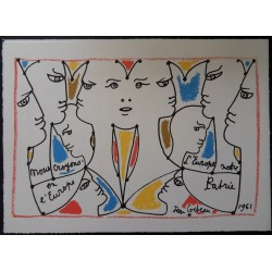 Jean COCTEAU - United color of 'Europe