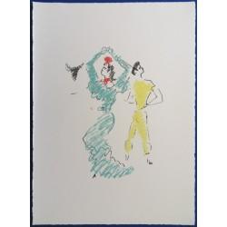 Jean COCTEAU - La danseuse de Flamenco