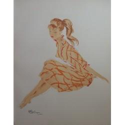 Jean-Gabriel DOMERGUE - A natural girl