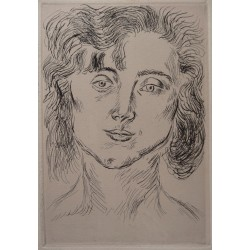 Henri MATISSE - Portrait of Marguerite