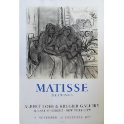 Henri MATISSE - Drawings - New-York