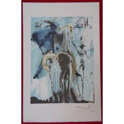 Salvador DALI - Lithograph (Dalinians Horses) - Don Quichotte