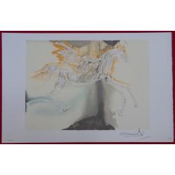 Salvador DALI - Lithograph (Dalinians Horses) - Pegasus