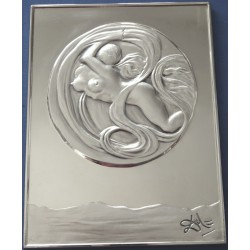 Salavador DALI - Silver Sculpture - Spatial Eve