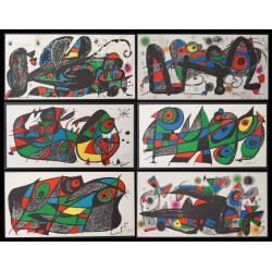 Joan MIRO - Original lithograph - Escultor - 7 lithos