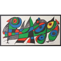 Joan MIRO - Original lithograph - Escultor - Japan