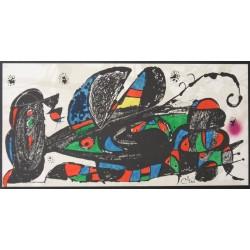 Joan MIRO - Original lithograph - Escultor - Persia