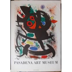 Joan MIRO - Original lithograph - Pasadena Art Museum