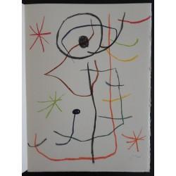 Joan MIRO - Original lithograph - Abstract composition