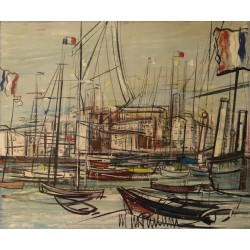Michel Marie POULAIN - Cannes Harbour