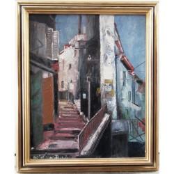 Michel Marie POULAIN - Streets in Eze