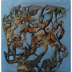 Simon HANTAI - Original drawing : Entrelacs