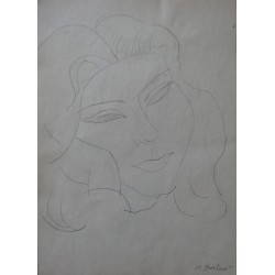 Henryk BERLEWI - Signed drawing : Study after Matisse