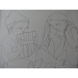 Pierre-Yves TREMOIS - Drawing : Daphnis & Chloe