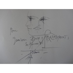 Pierre-Yves TREMOIS - Drawing : Parallelement