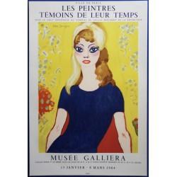 Kees VAN DONGEN - Lithographie : Brigitte Bardot