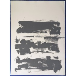 Joan MITCHELL - Lithograph : The land