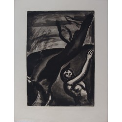 Georges ROUAULT - Etching (Miserere) : Tomorrow will be nice
