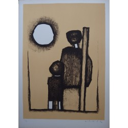 Witold-k - Lithograph : Facing the sunset